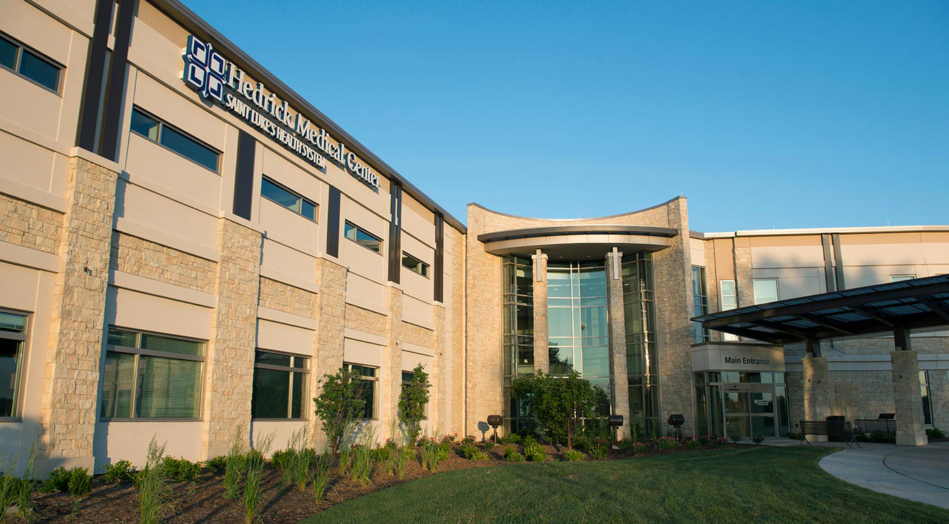 Exterior view of Hedrick Medical Center in Chillicothe, Missouri