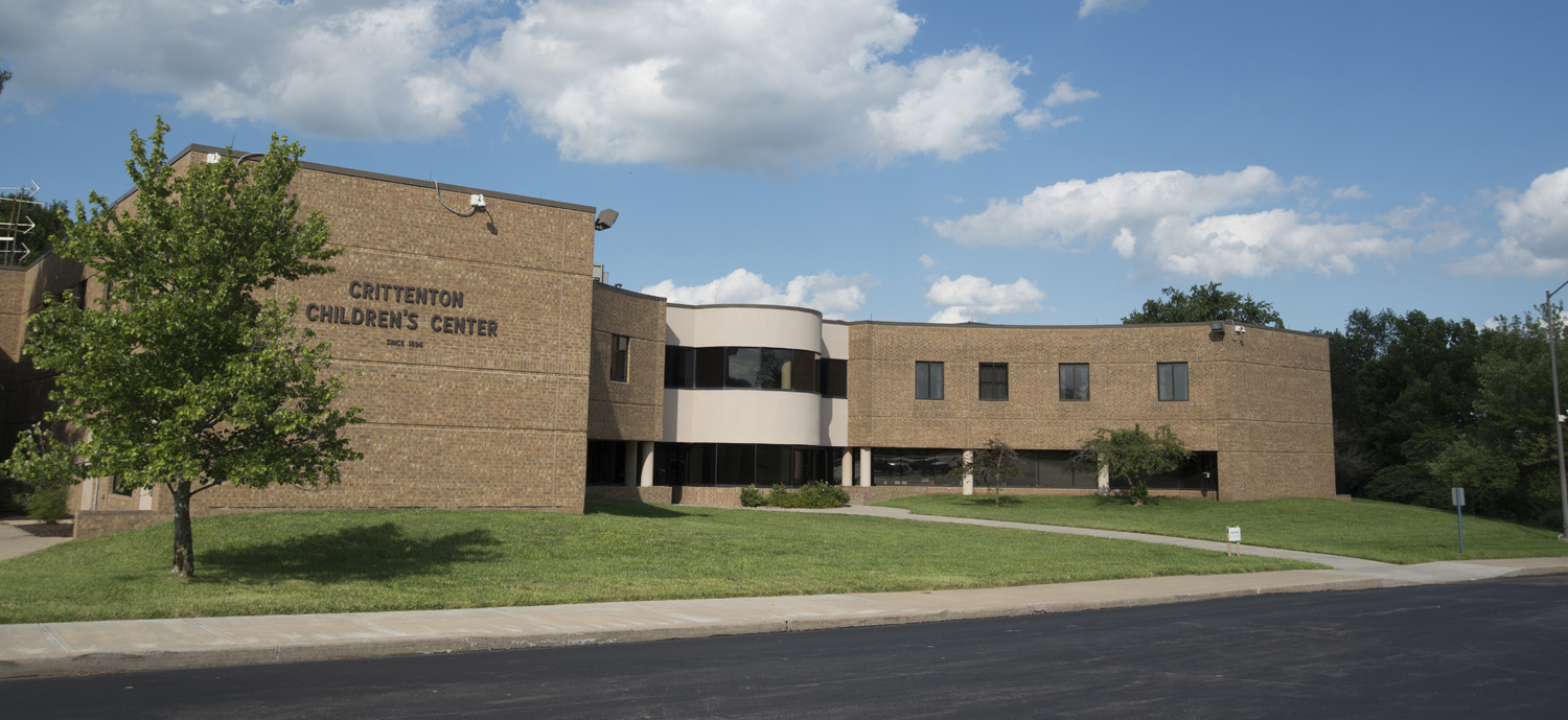 Exterior view of Crittenton Children's Center in Kansas City, Missouri