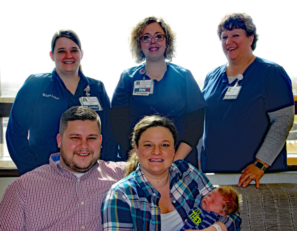 Cooper Family and OB nurses