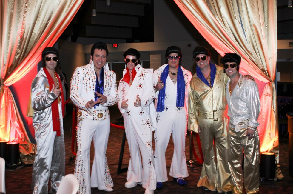 Many Elvis's came to Las Vegas in Lee's Summit for the annual Boo Ball event