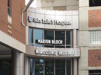 Saint Luke's Marion Bloch Neuroscience Institute entrance