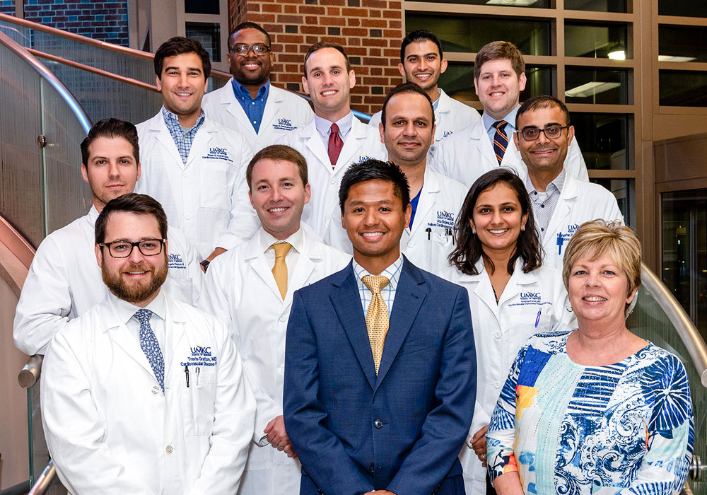 Saint Luke's Cardiovascular Fellowship group photo