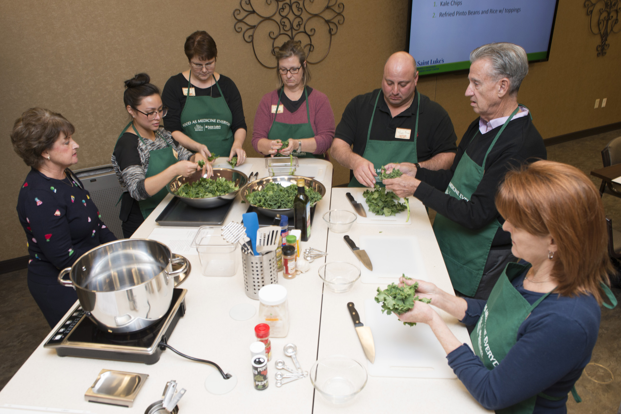 In FAME classes, students have fun while learning to cook tasty, nutritious meals.