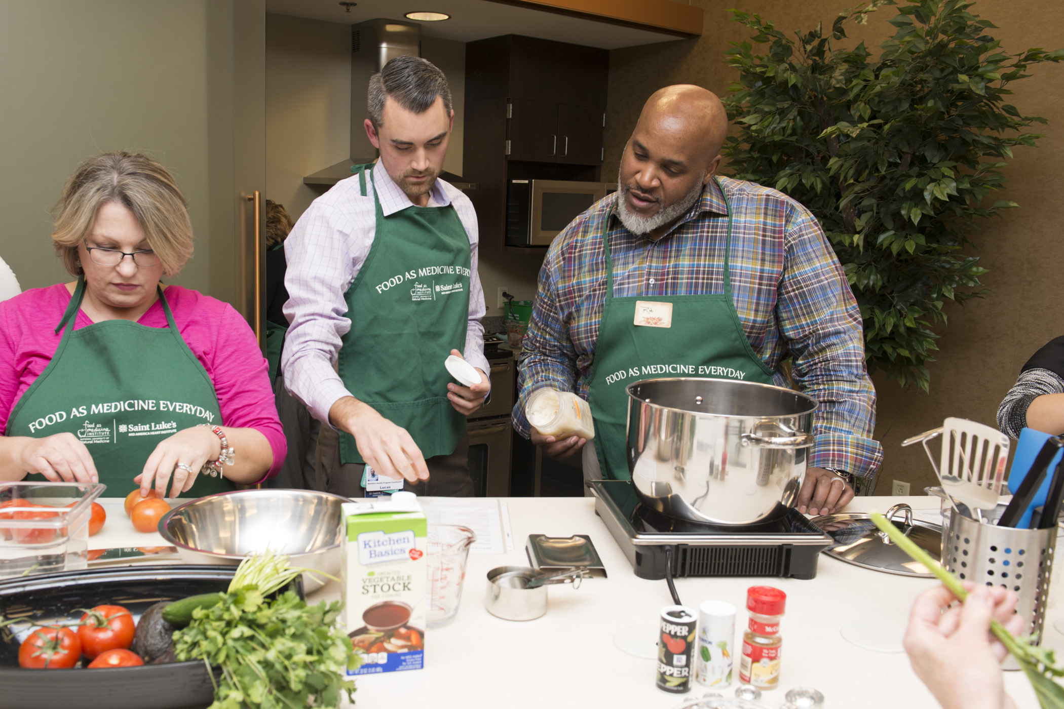 Through FAME classes, individuals are encouraged to reclaim their health by cooking at home.