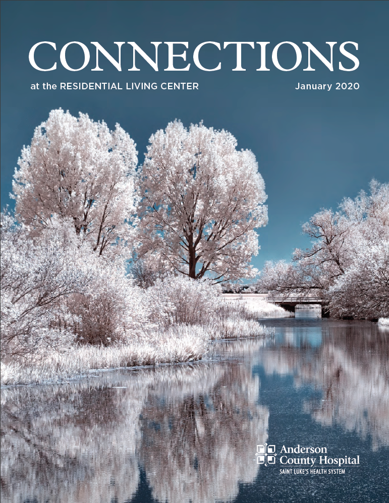Connections Newsletter Cover Photo