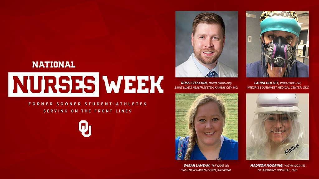 National Nurses Week: Former Sooner student-athletes serving on the front lines. OU