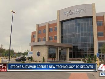 Clear complete coverage. Stroke survivor credits new technology to recover. 41 Action News.