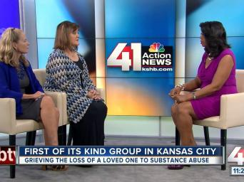 First of its kind group in Kansas City, grieving the loss of a loved one to substance abuse. 41 Action News.