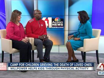 Clear complete coverage - Camp for children grieving the death of loved ones: WILLPower helps kids through physical activity: 41 Action News
