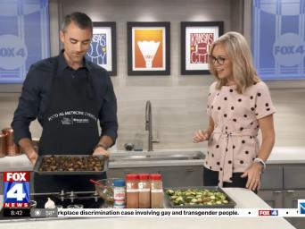 FOX 4 News. 8:42. Lucas Schubert making roasted Brussels sprouts on the FOX4 morning show.