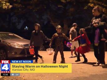 FOX4 News. New at Noon: Staying warm on Halloween night. Kansas City, MO.