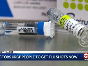 Health Alert: Doctors urge people to get flu shots now - KMBC9 - ABC