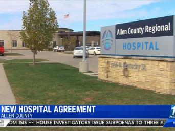 New hospital agreement. Allen County. KODE 12 abc