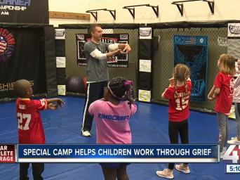 Clear complete coverage. Special camp helps children work through grief. 41 Action News.