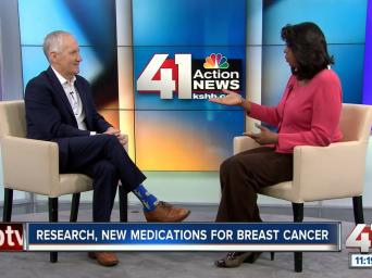 Research, new medications for breast cancer. 41 Action news