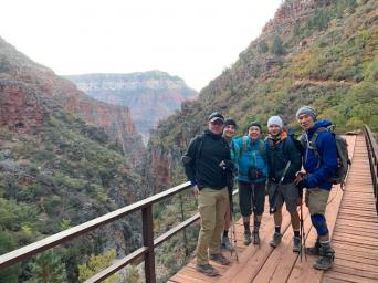 Dr. Chan and other members of the 10th annual Grand Canyon Hunger Walk
