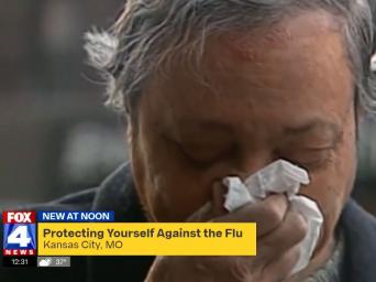 FOX 4 News. New at Noon. Protecting yourself against the flu. Kansas City, MO