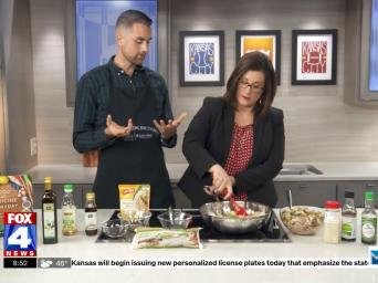 FOX 4 News. 8:52. Lucas Schubert demonstrating how to make healthy stir fry on the FOX4 morning show
