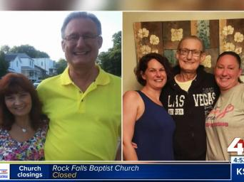 41 Action News. Dave Rygalski before and after his amyloidosis diagnosis.