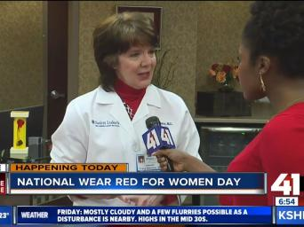 LIVE clear complete coverage: Happening Today: National Wear Red for Women Day, 41 Action News - KSHB.com