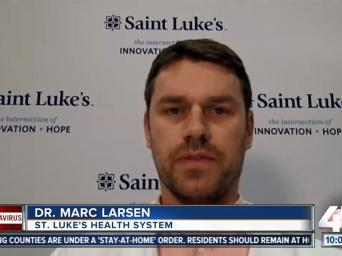 41 Action News: Coronavirus - Dr. Marc Larsen - Saint Luke's Health System