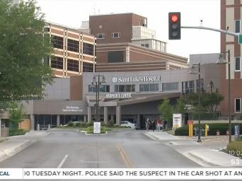 KSHB 41 Action News. Photo of Saint Luke's Hospital of Kansas City.