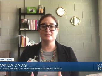 41 Action News: Amanda Davis, Saint Luke's Hospital of KC Crittenton Children's Center