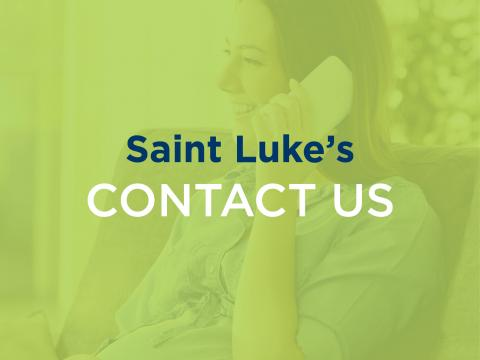 Saint Luke's Maternity Contact Us icon